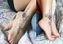 10 Flower-Ankle-Tattoo-Ideas