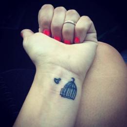 12 Cute Bird tattoo