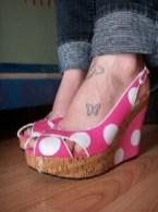 Foot butterfly tattoo designs 8