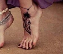 feathers tatoo design