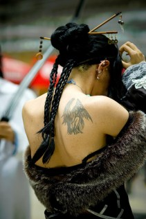 Angel tattoos on shoulder http://tatuaz-wzory.blog.pl/2012/01/27/aniol-na-lopatce/