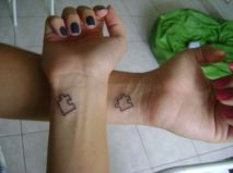 Best friend sister puzzle tattoo https://pl.pinterest.com/pin/362399101234606614/
