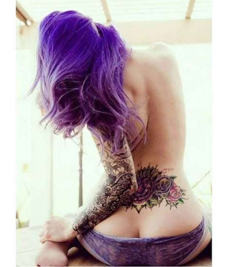 Hot tramp stamp tattoos for sexy girls https://www.gettattoosideas.com/lower-back-tattoos/