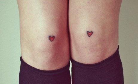 Cute tiny hearts on knees https://www.theatlantic.com/health/archive/2014/07/the-real-reason-tattoos-are-permanent/374825/