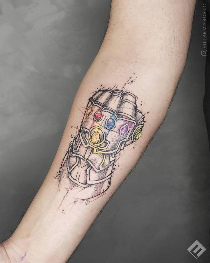 Infinity stones avengers tattoo ideas