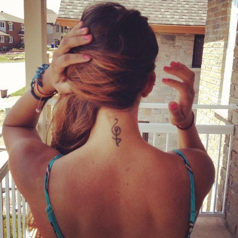 Dream tattoo nice on neck