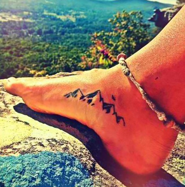 Cute Ankle Tattoos Ideas for Women