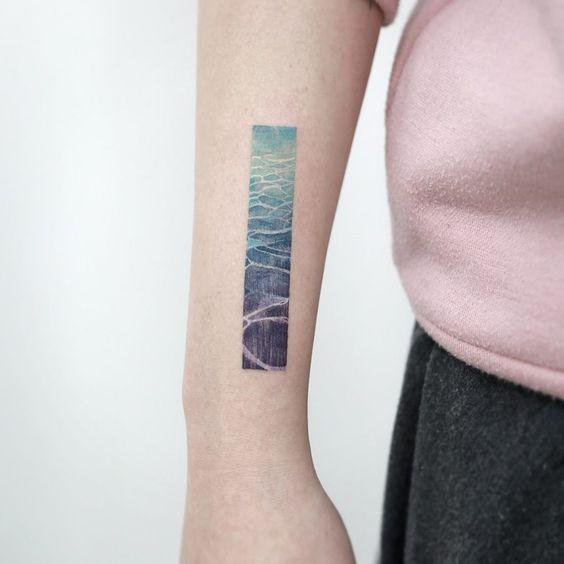 Like a picture tattoo design