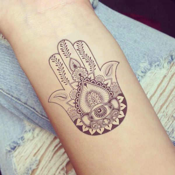 Hamsa symbol tattoo ideas