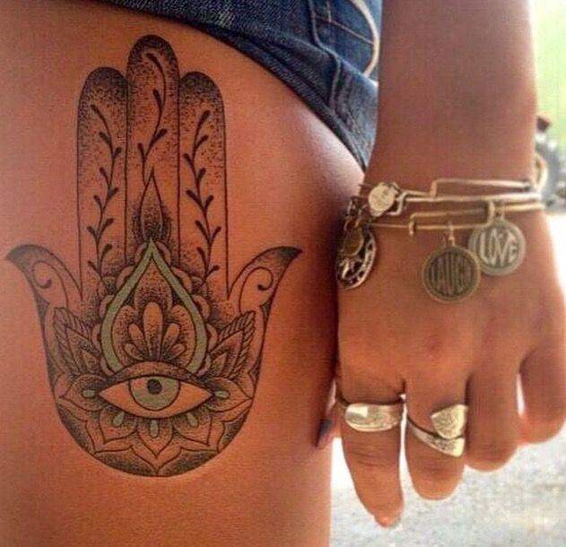 Spirit hamsa tattoo ideas