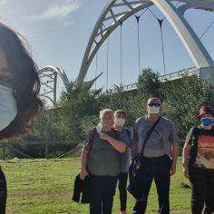 Ruta senderista con el C.P.A. Los Naranjos II para visitar el Puente de Ibn Firnás