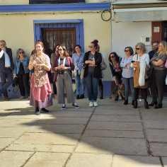 Visita teatralizada Día de la Mujer, Fundación Cajasol