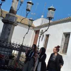 Visita teatralizada Día de la Mujer Fundación Cajasol