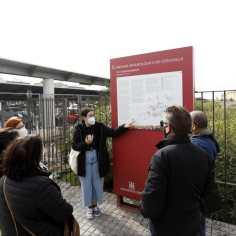 """Visita sobre el Ritual funerario en la Córdoba de las 3 culturas para el taller """"Paseos por Córdoba"""" en el C.C. Vallehermoso."""