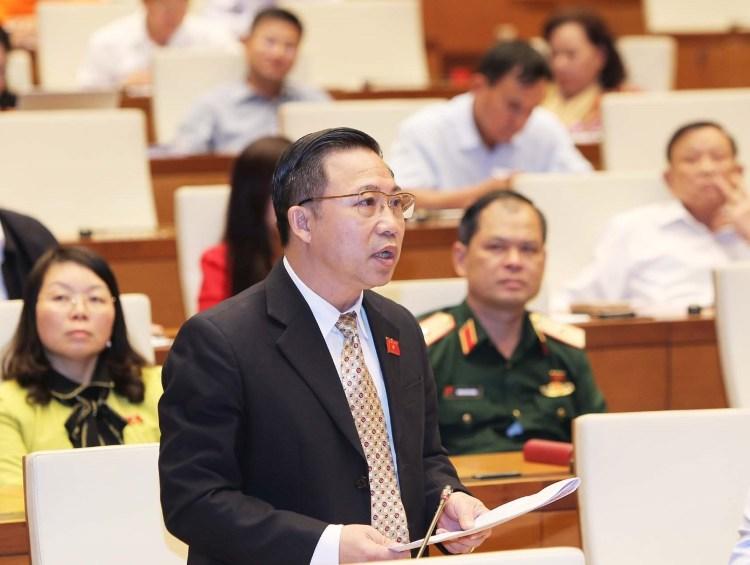 Đại biểu Quốc hội Lưu Bình Nhưỡng. (Nguồn ảnh: TTXVN)