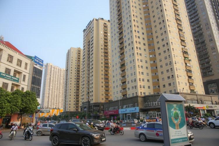 Chung cư, nhà cao tầng đang được xây dựng ngày càng nhiều ở Hà Nội. (Ảnh: CTV)