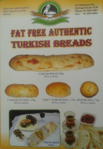 Authentic Turkish BAkeHouse - artisan turkish bread brochure