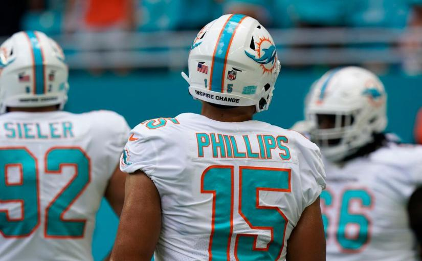 Jaelan Phillips is coming into his own for the Miami Dolphins