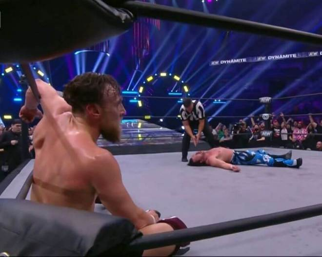 AEW Bryan Danielson vs Kenny Omega