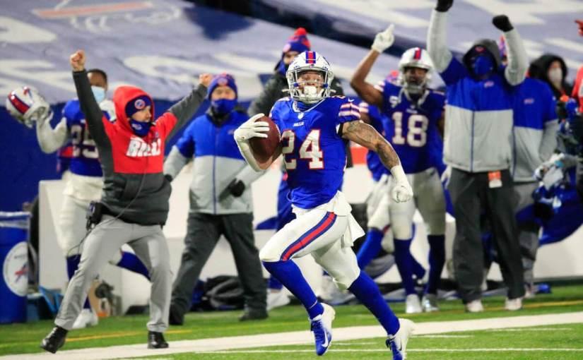 Taron Johnson Buffalo Bills Sign 3-Year Extension