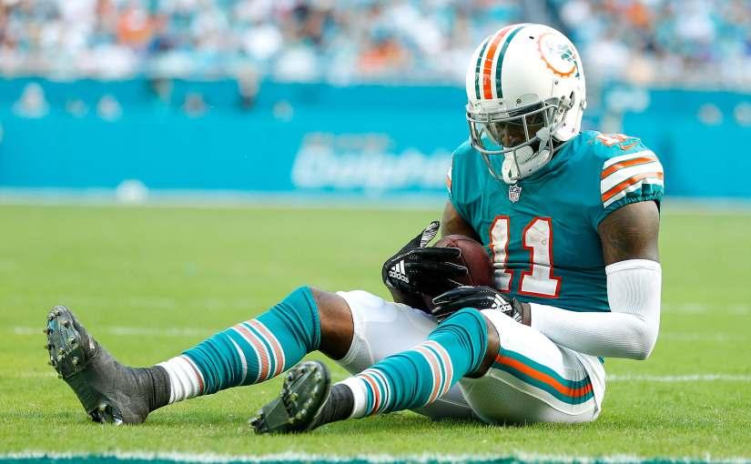 DeVante Parker is hurt again, but Miami is Prepared