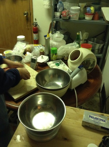 My tiny messy kitchen!