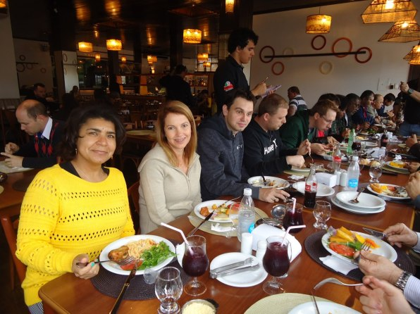 Almoço em Veranópolis