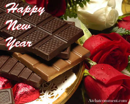 chocolate happy new year
