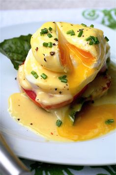 My obsession with Eggs Benedict because especially here perfection matters