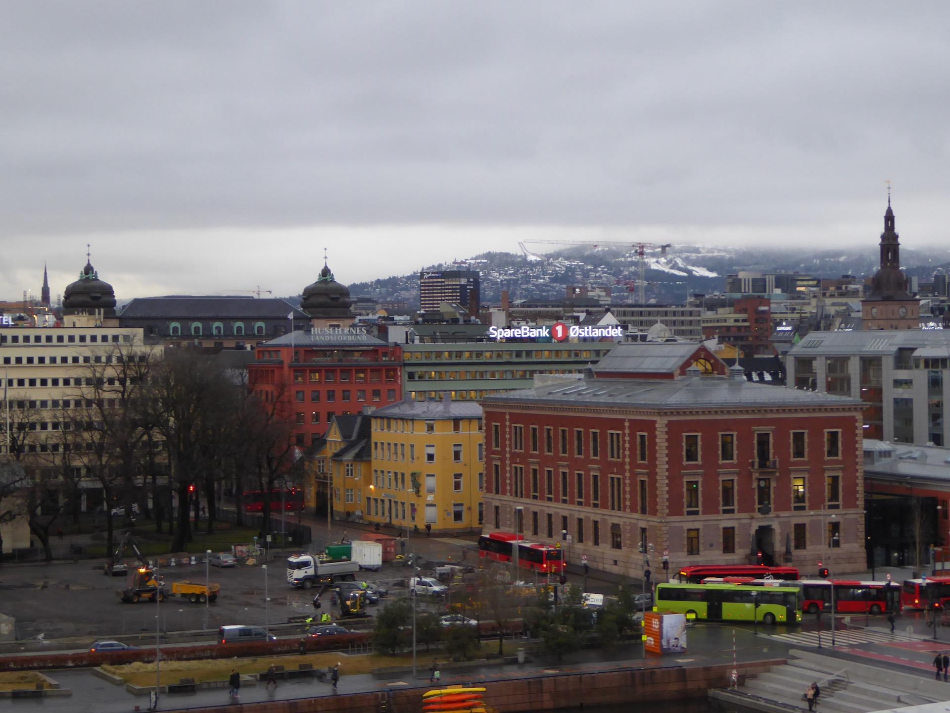 Oslo city break: widok z dachu opery