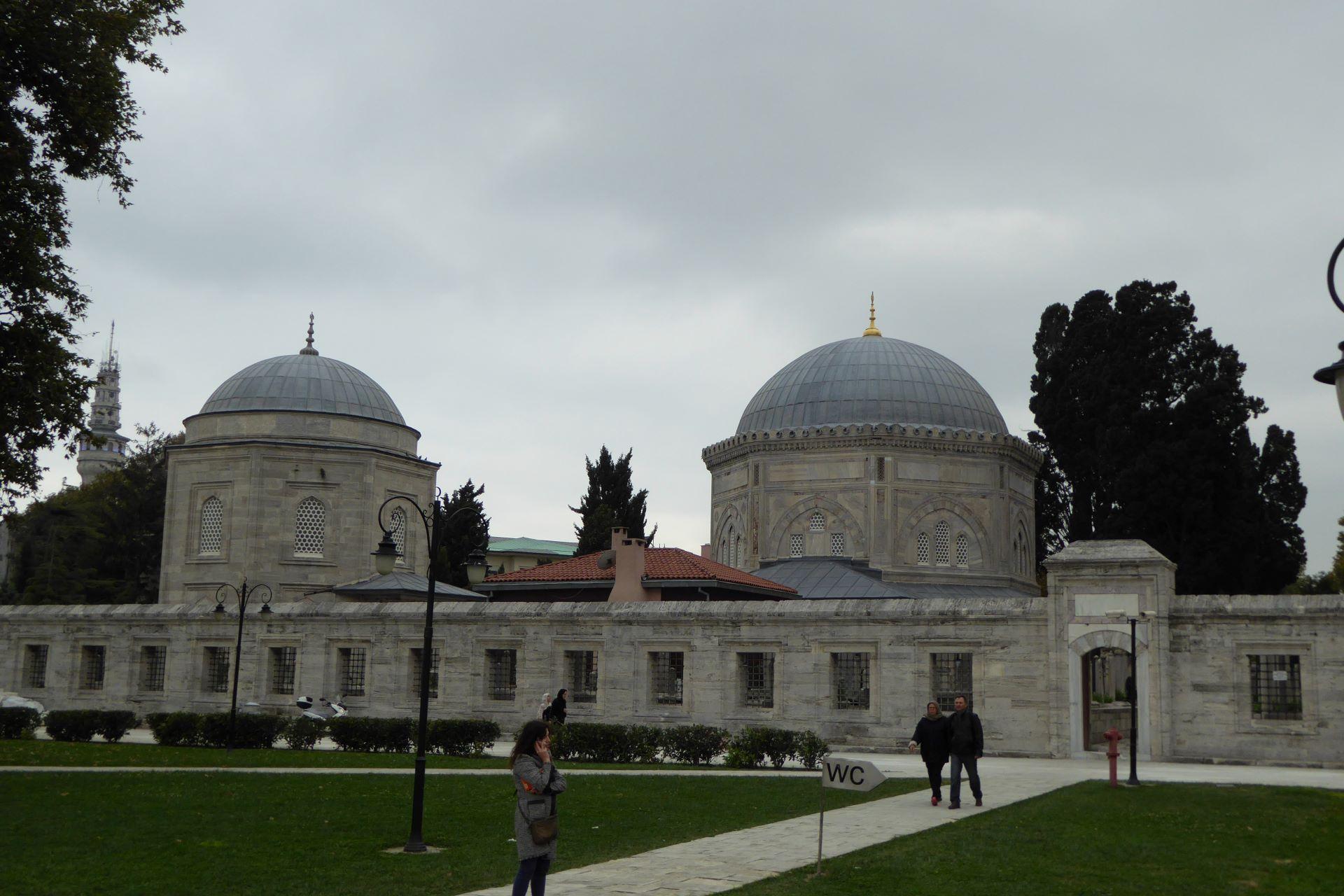 Stambuł Wspaniałe Stulecie: grobowce Sulejmana i Hurrem