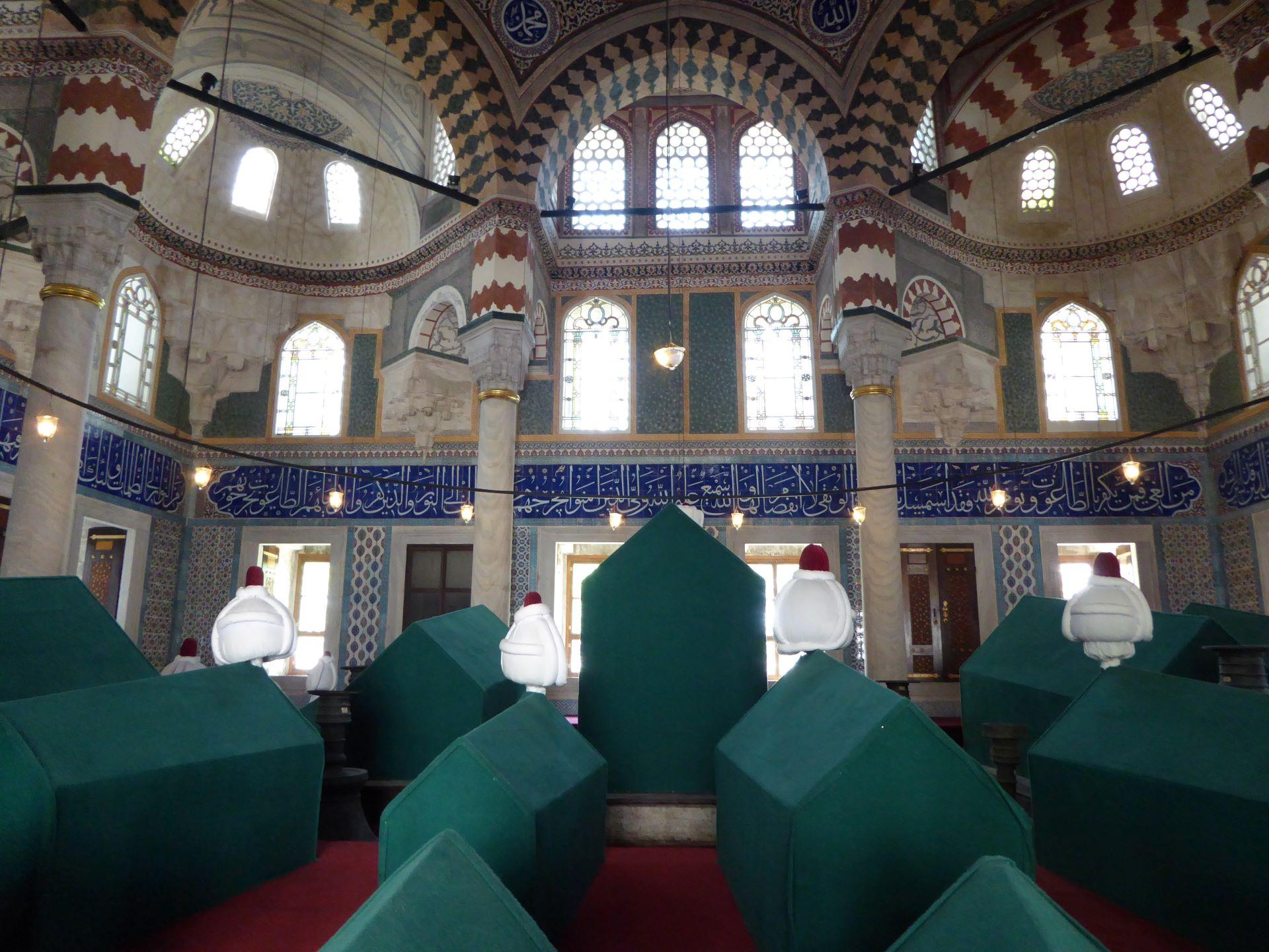 Stambuł Wspaniałe Stulecie: groby sułtanów
