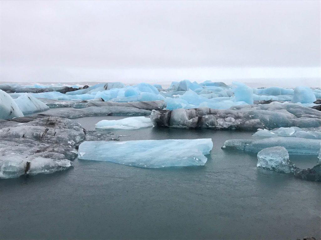 Laguna lodowcowa na Islandii