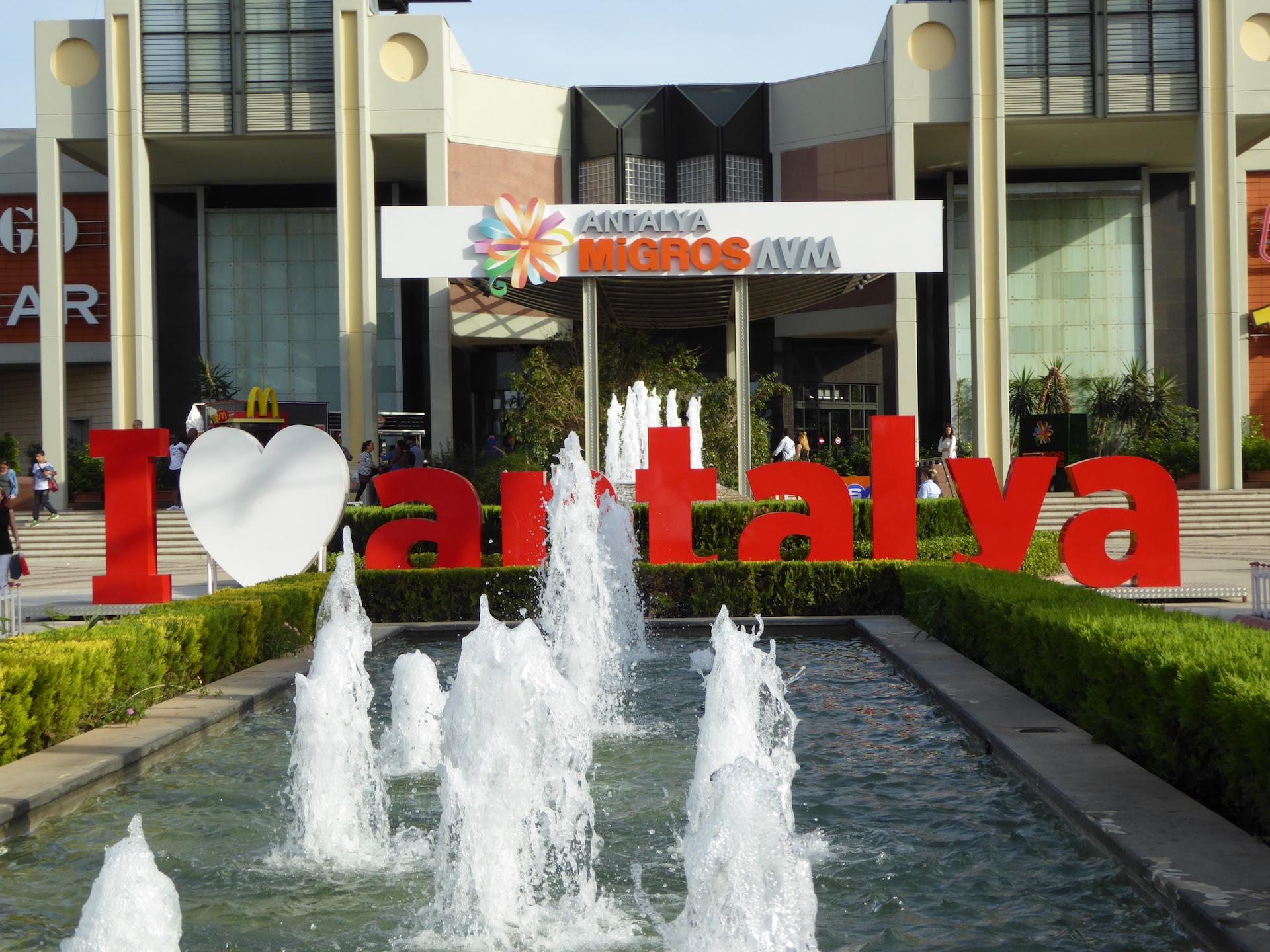 Konyaaltı: centrum handlowe 5M Migros