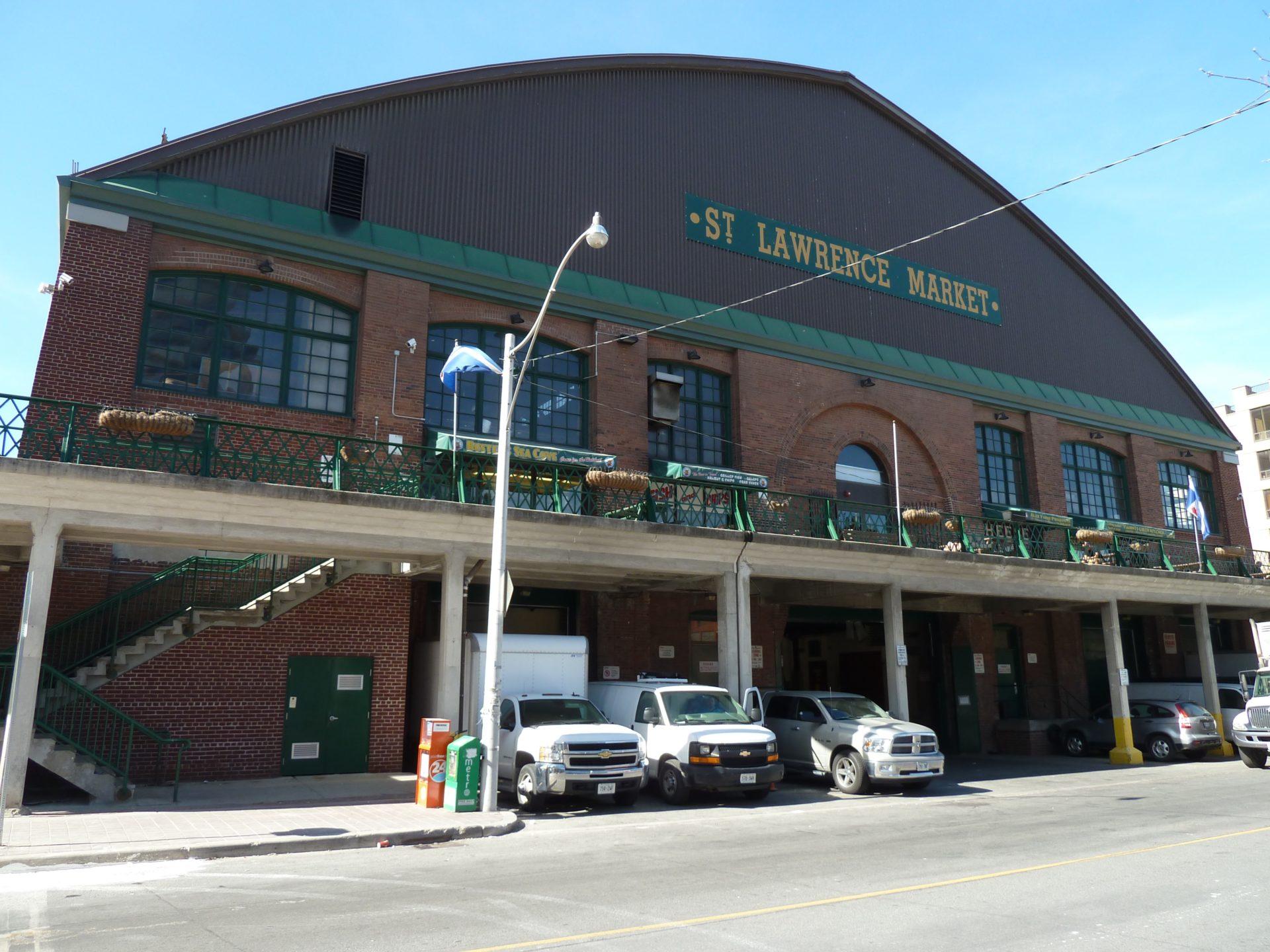 Budynek hali targowej St. Lawrence Market w Toronto