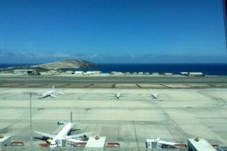 Pistas del aeropuerto de Gran Canaria.