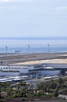 Aeropuerto de Lanzarote. Fotografía de AENA
