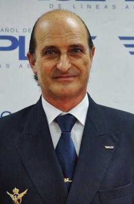 Javier Gómez Barrero, comandante de Air Europa y presidente del SEPLA