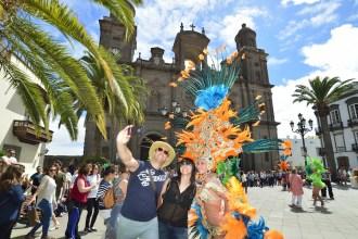 Agentes de viaje de Travelplan. Fotografía: Tony Hernández distribuida por el Ayuntamiento de LPGC