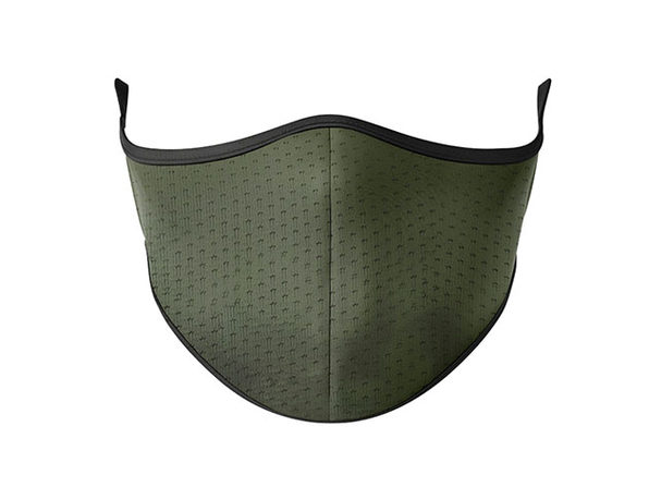 Masksup Reusable Face Masks (Olive Green/2-Pack)
