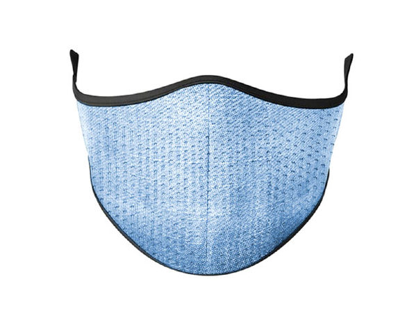 Masksup Reusable Face Masks (Denim/2-Pack)v