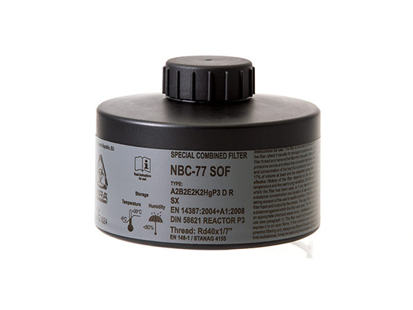 NBC-77 SOF CBRN Gas Mask Filter