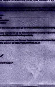 Sheffield Cover Letter Watermark Detail