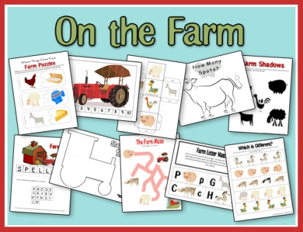 Farm Printables