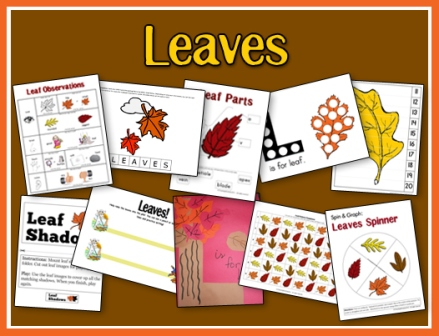 Leaves Printables