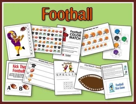Football Printables