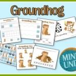 groundhog preschool printables