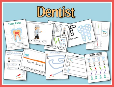 FREE Dental Health Printables