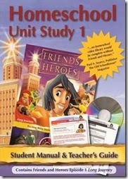 Friends and Heroes Homeschool Unit Study {Review}