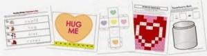 FREE Kindergarten Sweetheart Printables
